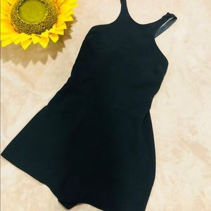 Kate Moss Top Shop Size 12 Black Romper